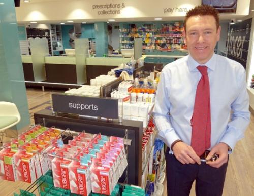 Facer's Pharmacy, Longton