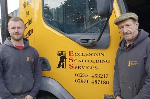 ECCLESTON SCAFFOLDING SERVICES